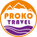 Proko Travel Logó Üzleti Utaztatás